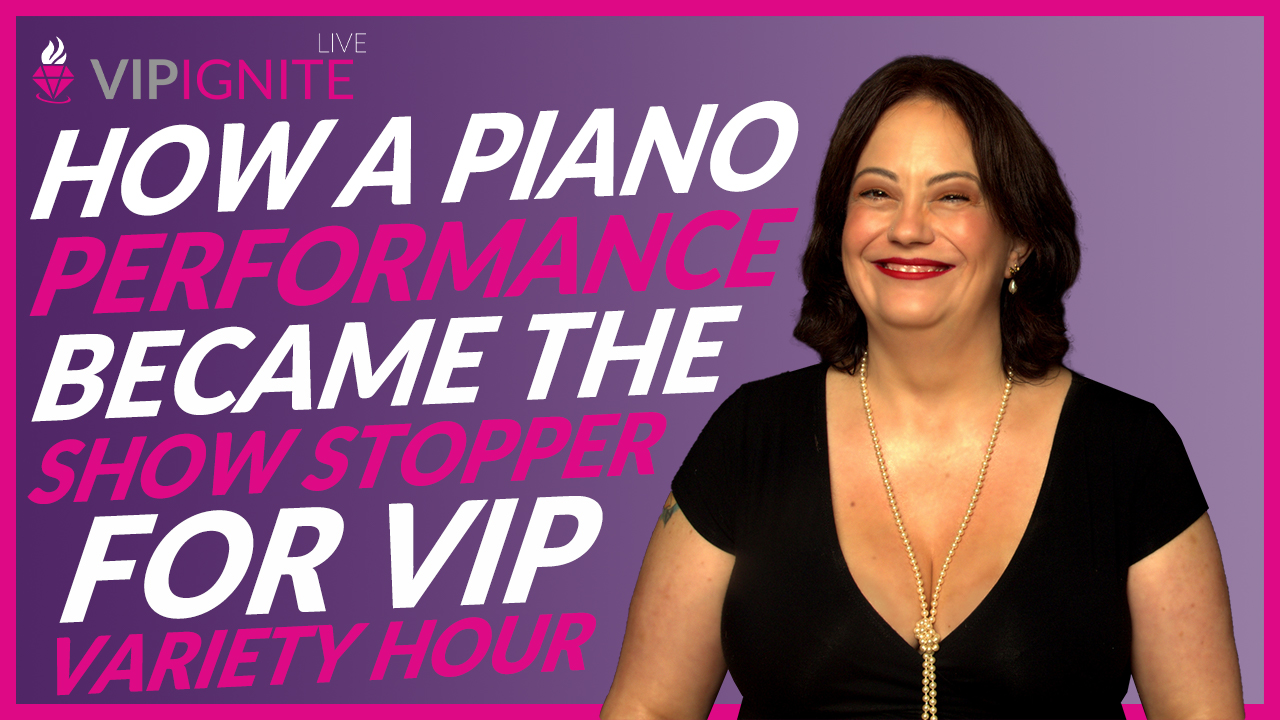 Kenny Flores – How a Piano Performance became the Show Stopper for VIP Variety Hour