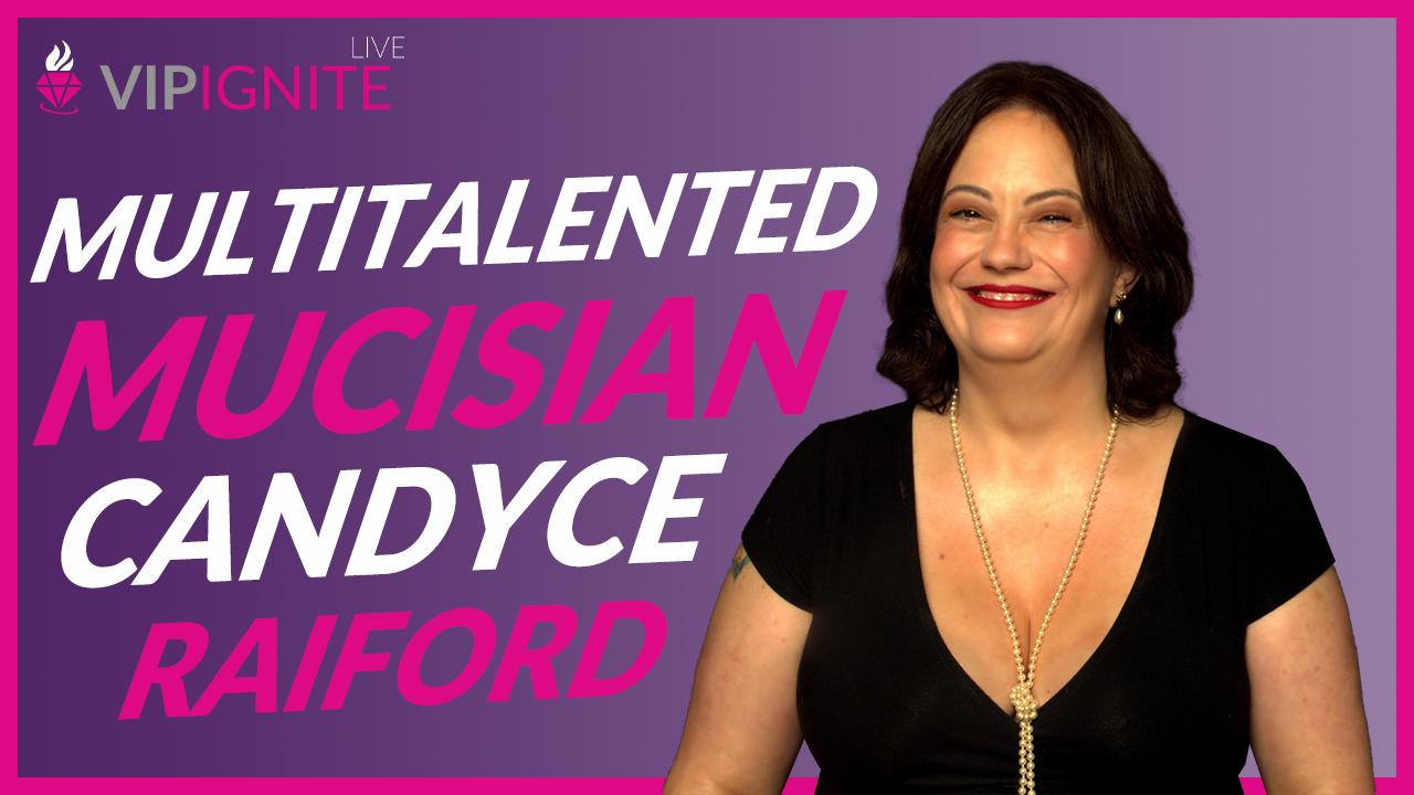 Multitalented Musician Candyce Raiford