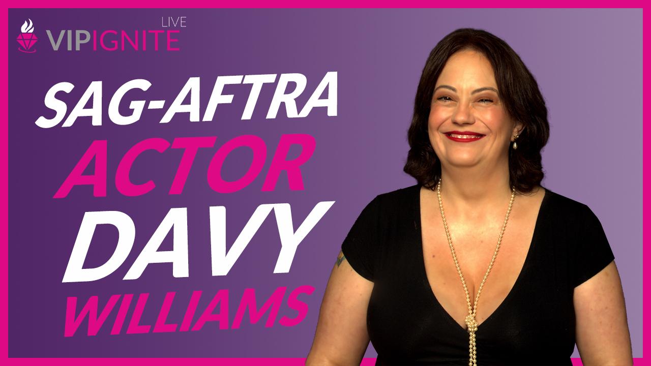 SAG-AFTRA Actor Davy Williams
